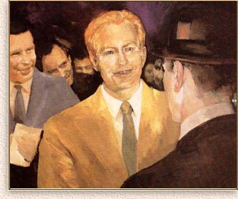 Painting of L. Ron Hubbard: The Founder of Scientology and Dianetics