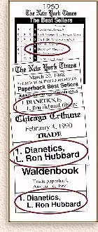 1. Dianetics, L. Ron Hubbard, article clipings